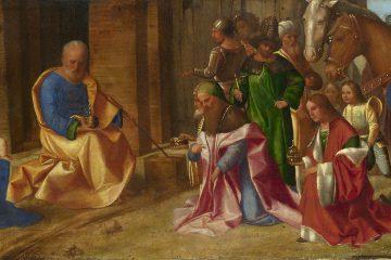 Giorgione - La adoración de los magos