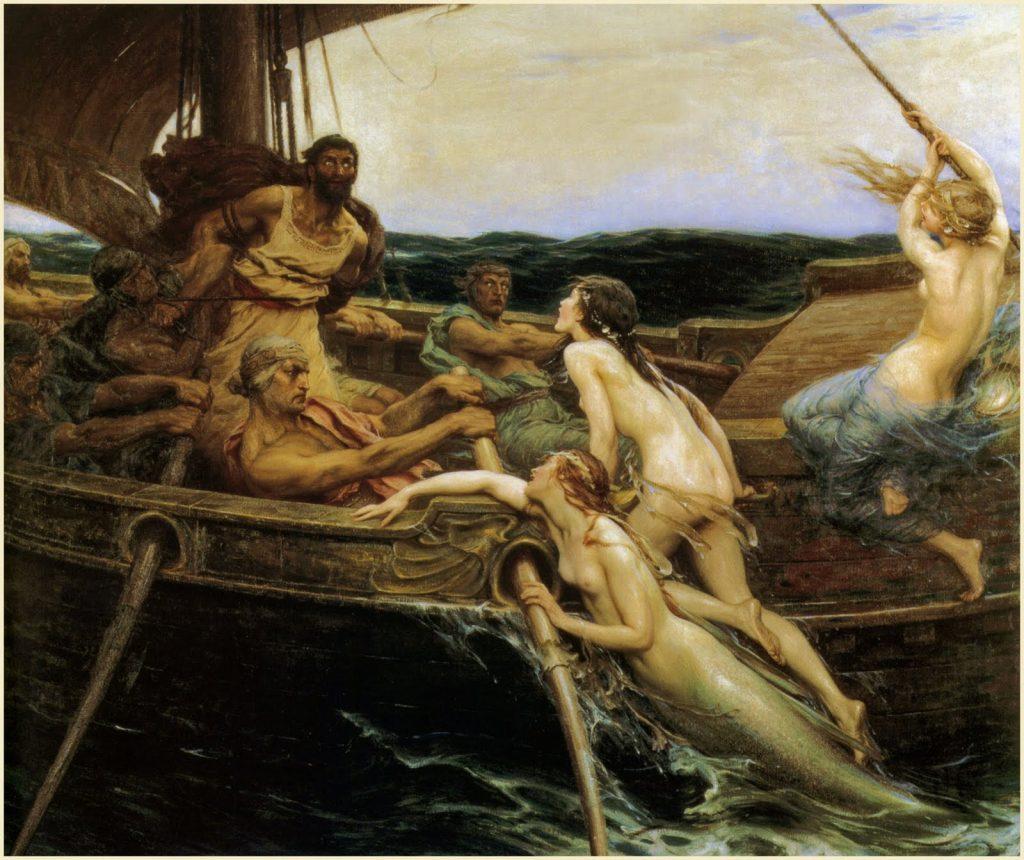 Ulises y las sirenas 1909