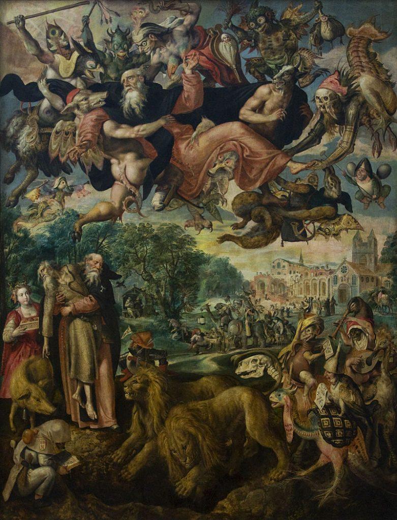 Tentaciones de san Antonio (1594)