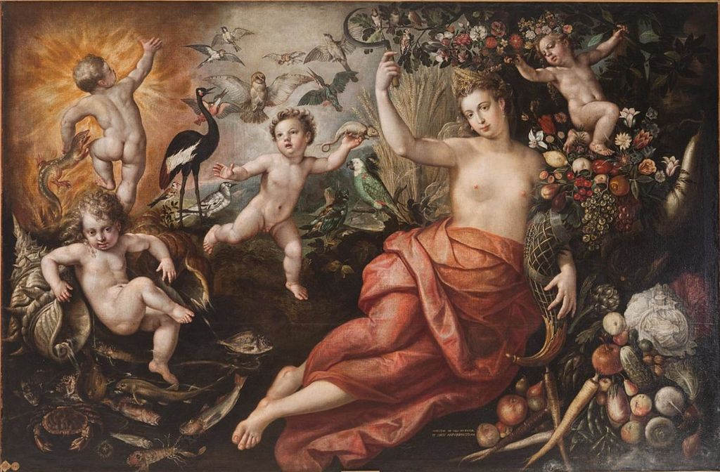 Abundancia (1584)