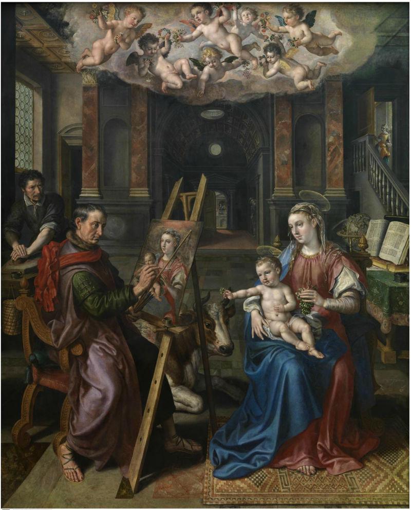 San Lucas pintando a la Virgen (1602)