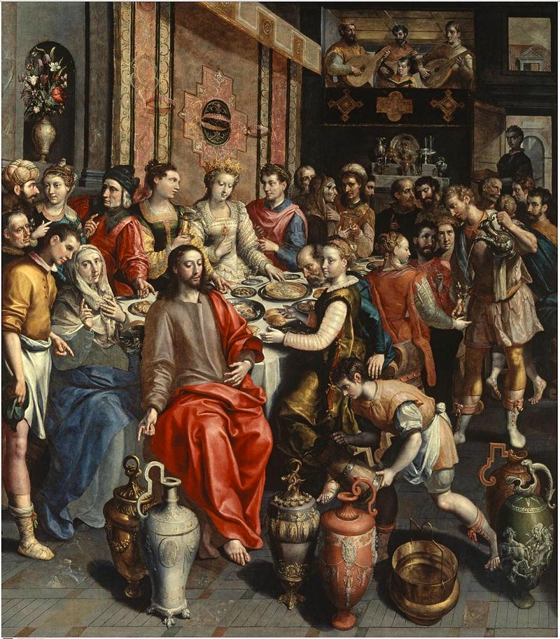 Las bodas de Cana (1597)